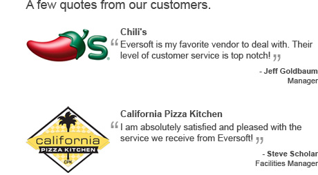 A few quotes from our Customers